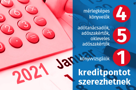 A 2021. január 1-jétől hatályos jogszabályok (Áfa, adóeljárási jogszabályok)