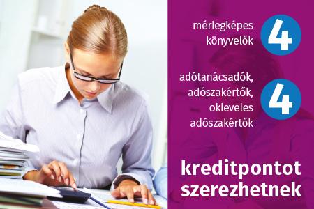 Könyvviteli szolgáltatást végzők kötelező továbbképzése államháztartási szakterületen 2021 – nem költségvetési szervnél foglalkoztatott mérlegképes könyvelők számára
